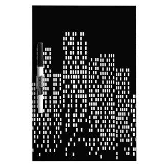 City Lights Dry-Erase Whiteboard