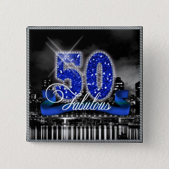 City Lights Fabulous Fifty ID191 15 Cm Square