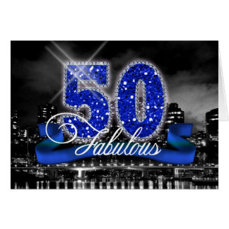 City Lights Fabulous Fifty ID191 Card