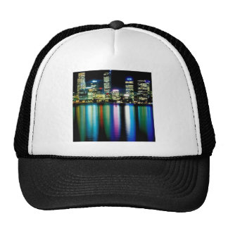 City lights mesh hat