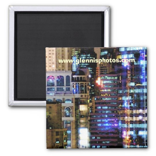 City Lights Magnet