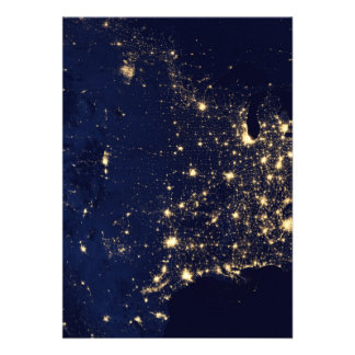 City Lights of the United States Announcements