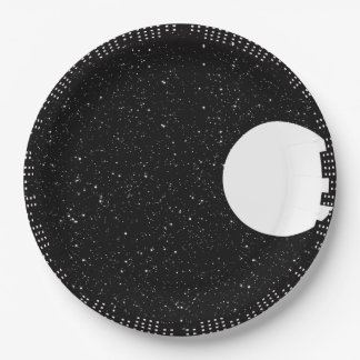 City Lights Paper Plate