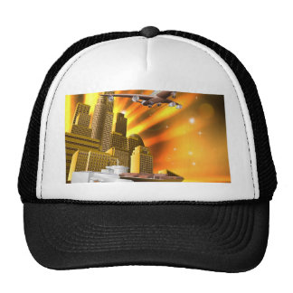 City Logistics Delivery Graphic Trucker Hat