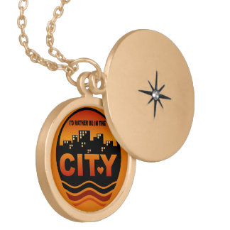 City Lover custom necklace