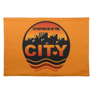 City Lover custom placemat