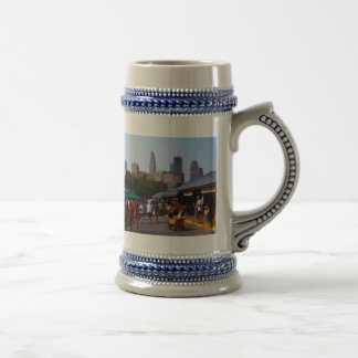 City Market and Downtown Kansas City Skyline Beer Steins