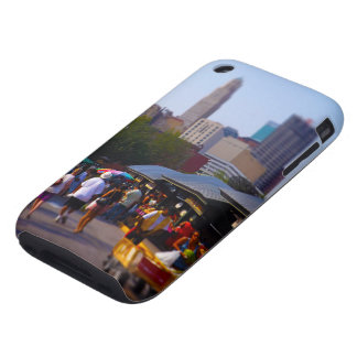 City Market and Downtown Kansas City Skyline Tough iPhone 3 Covers