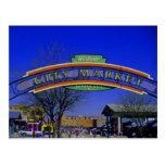 City Market post card