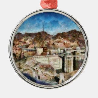 City - Nevada - Hoover Dam Christmas Ornament
