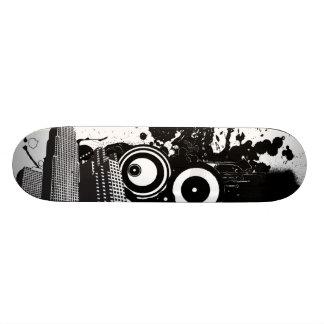 City Noise Custom Skate Board