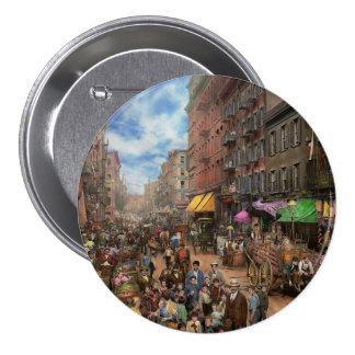 City - NY - Flavors of Italy 1900 7.5 Cm Round Badge