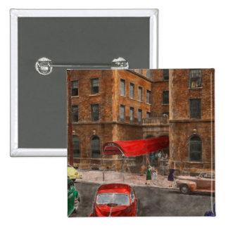 City - NY - Leo Ritter School of Nursing 1947 15 Cm Square Badge