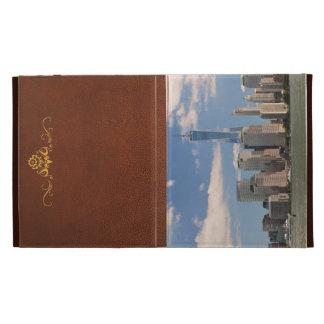 City - NY - The colors of a city iPad Folio Cases