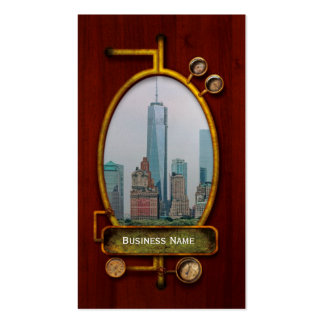 City - NY - The financial district Pack Of Standard Business Cards