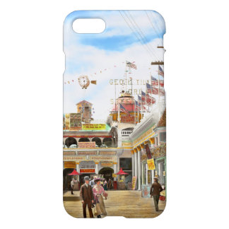 City - NY - The Great Steeplechase 1903 iPhone 7 Case