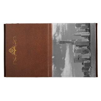 City - NY - The shades of a city iPad Folio Cases