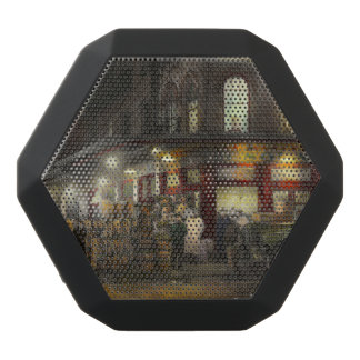City - NY - Washington St Market, buying at night Black Boombot Rex Bluetooth Speaker
