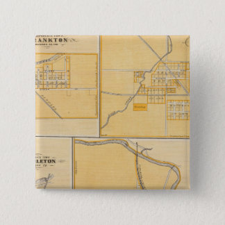 City of Anderson with Frankton 15 Cm Square Badge