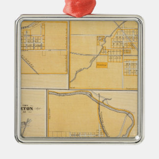 City of Anderson with Frankton Christmas Ornament