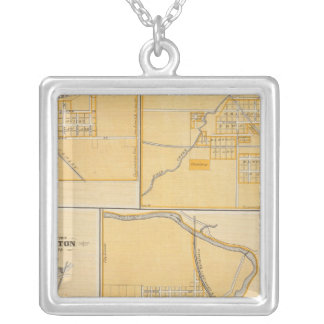 City of Anderson with Frankton Silver Plated Necklace