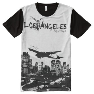 City of Angels, Los Angeles California All-Over Print T-Shirt