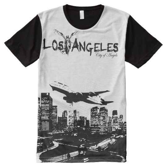 City of Angels, Los Angeles California All-Over Print