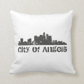 City of Angels (Los Angeles) Throw Cushions