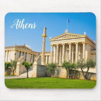 City of Athens, Greece Mouse Mat