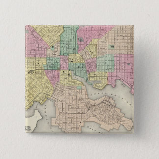 City Of Baltimore Maryland 15 Cm Square Badge