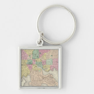 City Of Baltimore Maryland Key Ring
