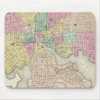 City Of Baltimore Maryland Mouse Pad