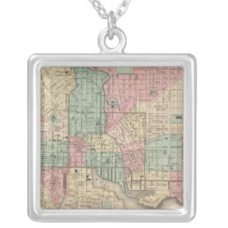 City of Baltimore, Maryland Silver Plated Necklace