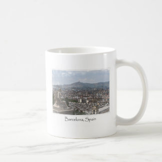City of Barcelona Spain Cityscape Coffee Mug