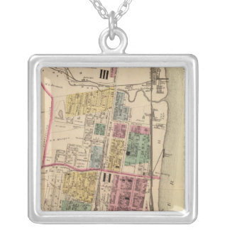 City of Bellaire, Ohio Silver Plated Necklace