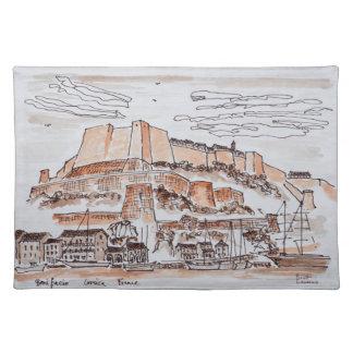 City of Bonifacio | Corsica, France Placemat