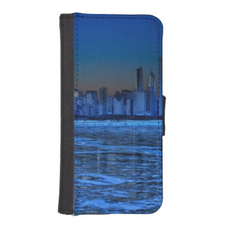 City of broad shoulders and lake Michigan iPhone SE/5/5s Wallet Case
