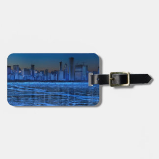 City of broad shoulders and lake Michigan Luggage Tag