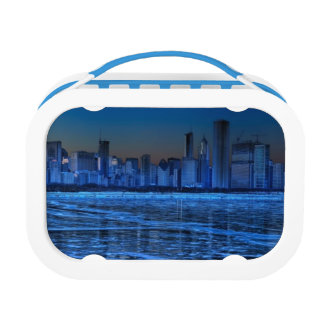 City of broad shoulders and lake Michigan Lunch Box