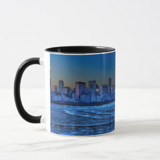 City of broad shoulders and lake Michigan Mug