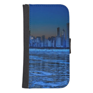 City of broad shoulders and lake Michigan Samsung S4 Wallet Case