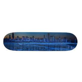 City of broad shoulders and lake Michigan Skateboard