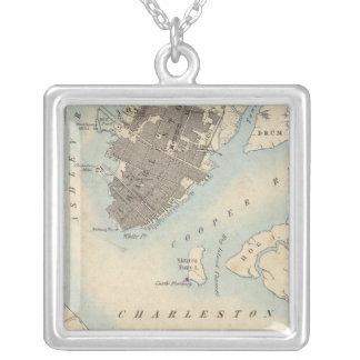 City of Charleston, South Carolina Silver Plated Necklace