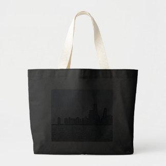 City of Chicago & Lake Michigan Sketch Bag