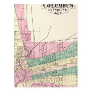 City of Columbus, Franklin County, Ohio Postcard