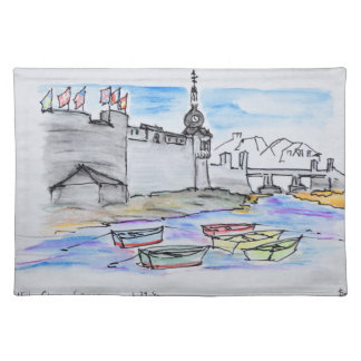 City of Concarneau | Finistere, Brittany Placemat