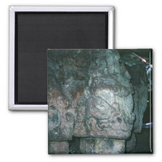 City of Copan Mayan Ruins Honduras Photo Designed Magnet