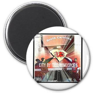 City Of Da Gamecocks Official Mixtape 6 Cm Round Magnet