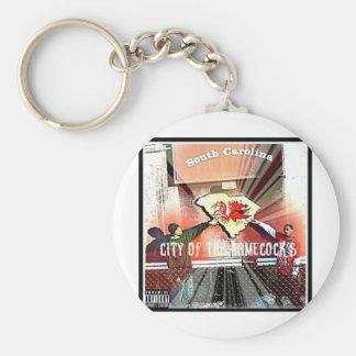 City Of Da Gamecocks Official Mixtape Basic Round Button Key Ring