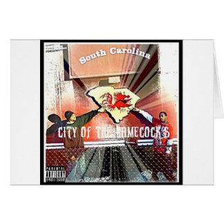 City Of Da Gamecocks Official Mixtape Greeting Cards